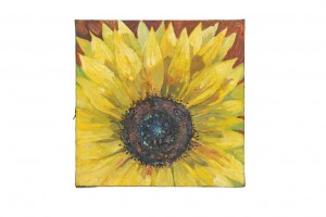 sunflower oil painting still life cleared art