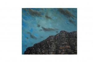 landscape oil on canvas cleared art