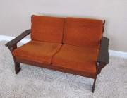 Orange Retro Couch