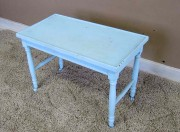 Pale Blue Side Table